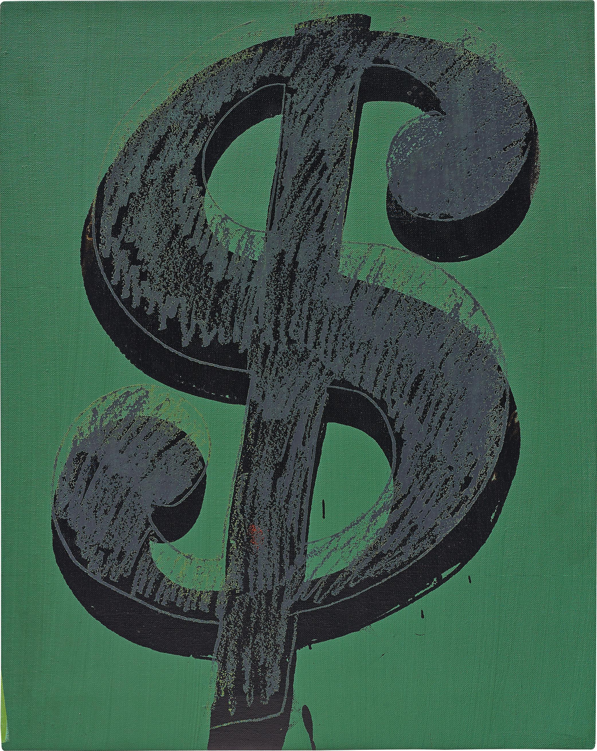 Andy Warhol-Dollar Sign-1981