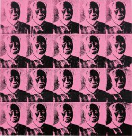 Andy Warhol-20 Pink Mao's-1979