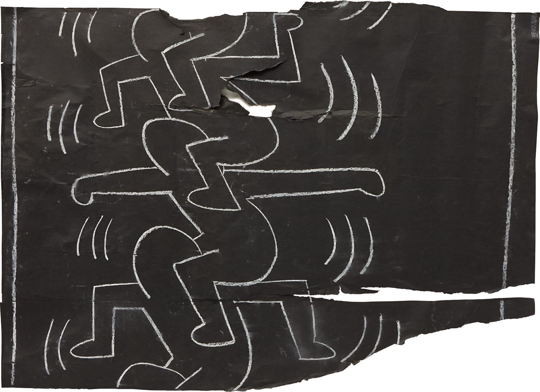 Keith Haring-Totem-1985