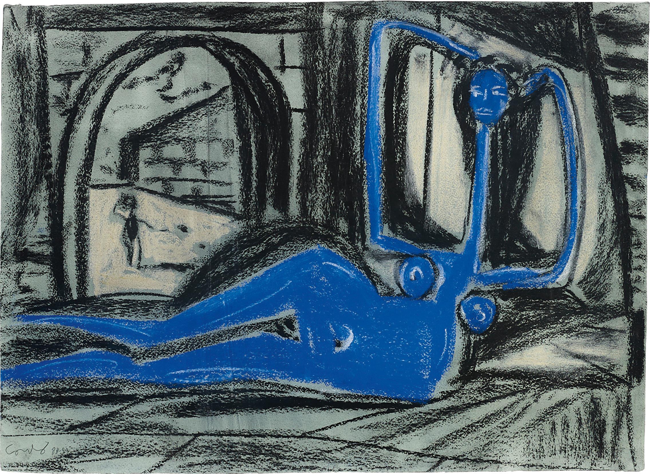 George Condo-Untitled-1989