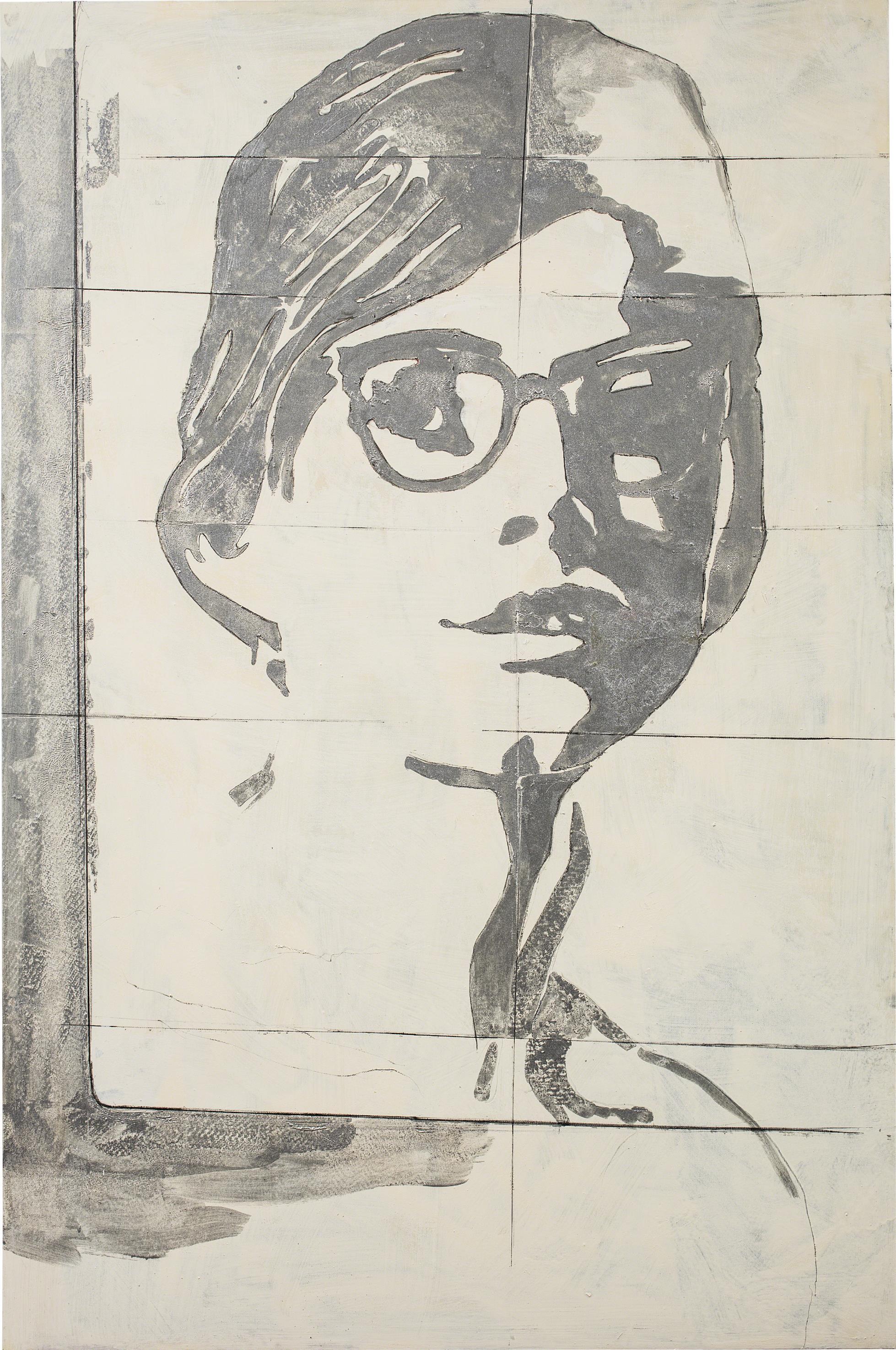 Giosetta Fioroni-Gli Occhiali (The Glasses)-1968