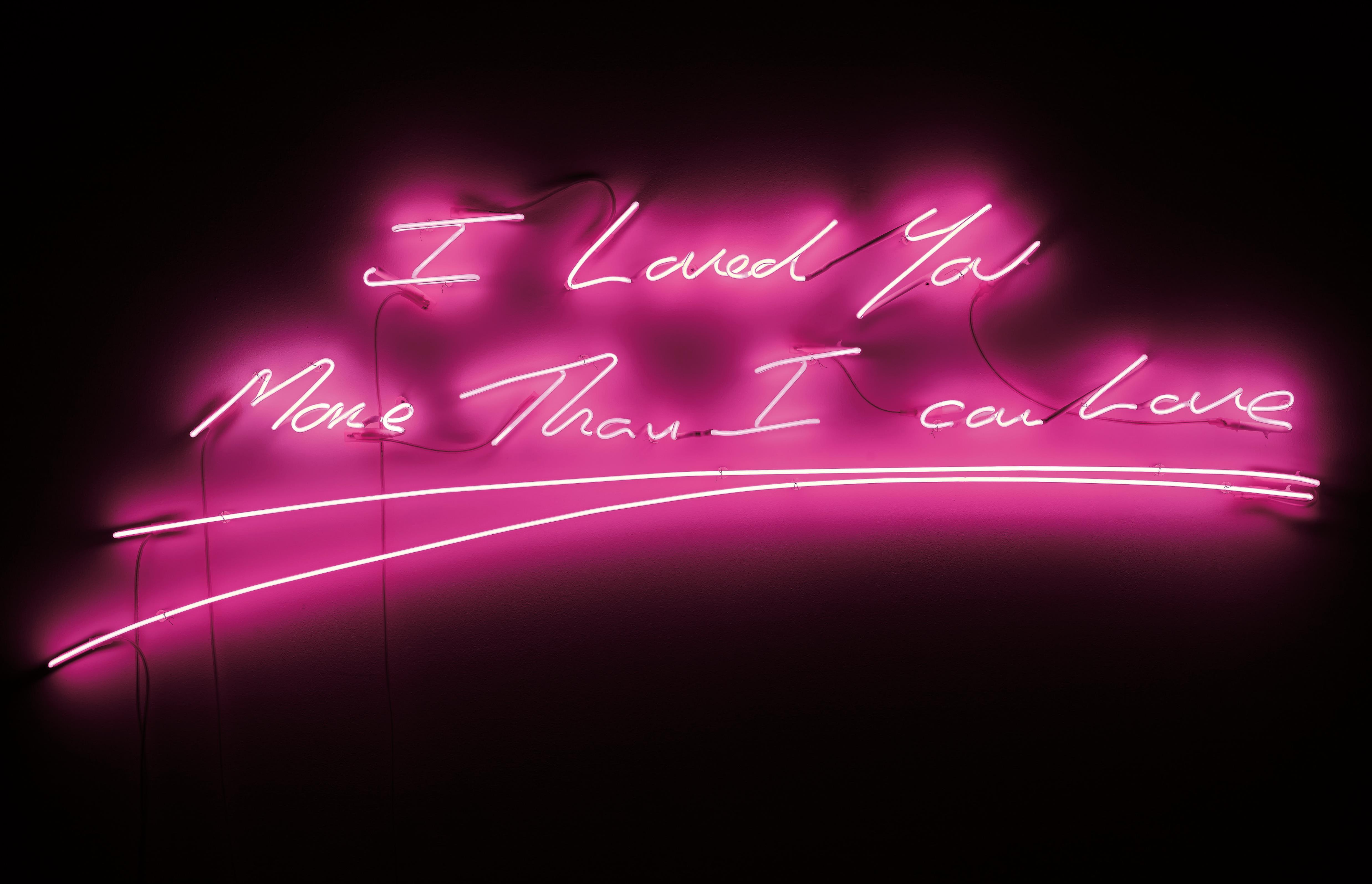 Tracey Emin-I Loved You More Than I Can Love-2009