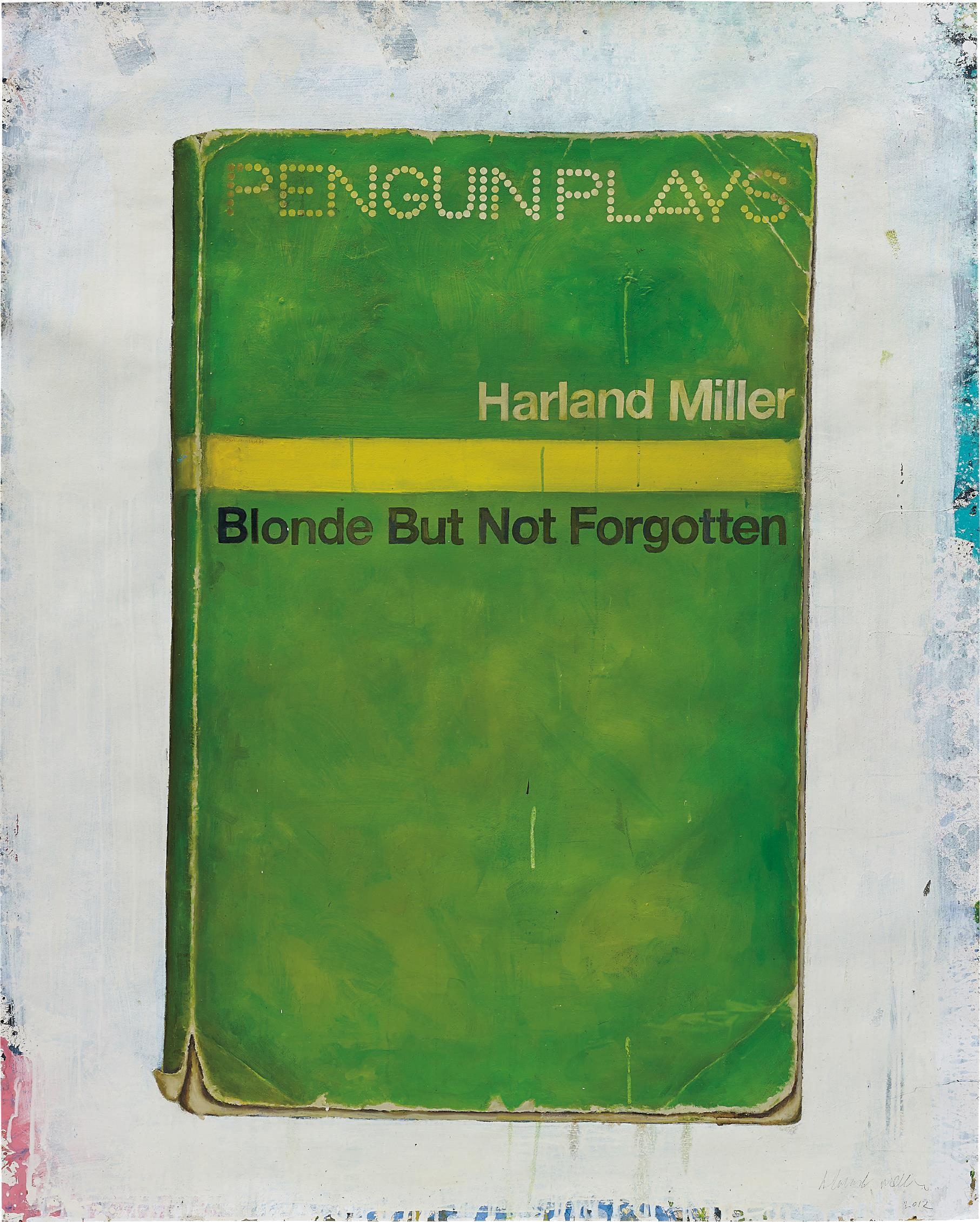 Harland Miller-Blonde But Not Forgotten-2012