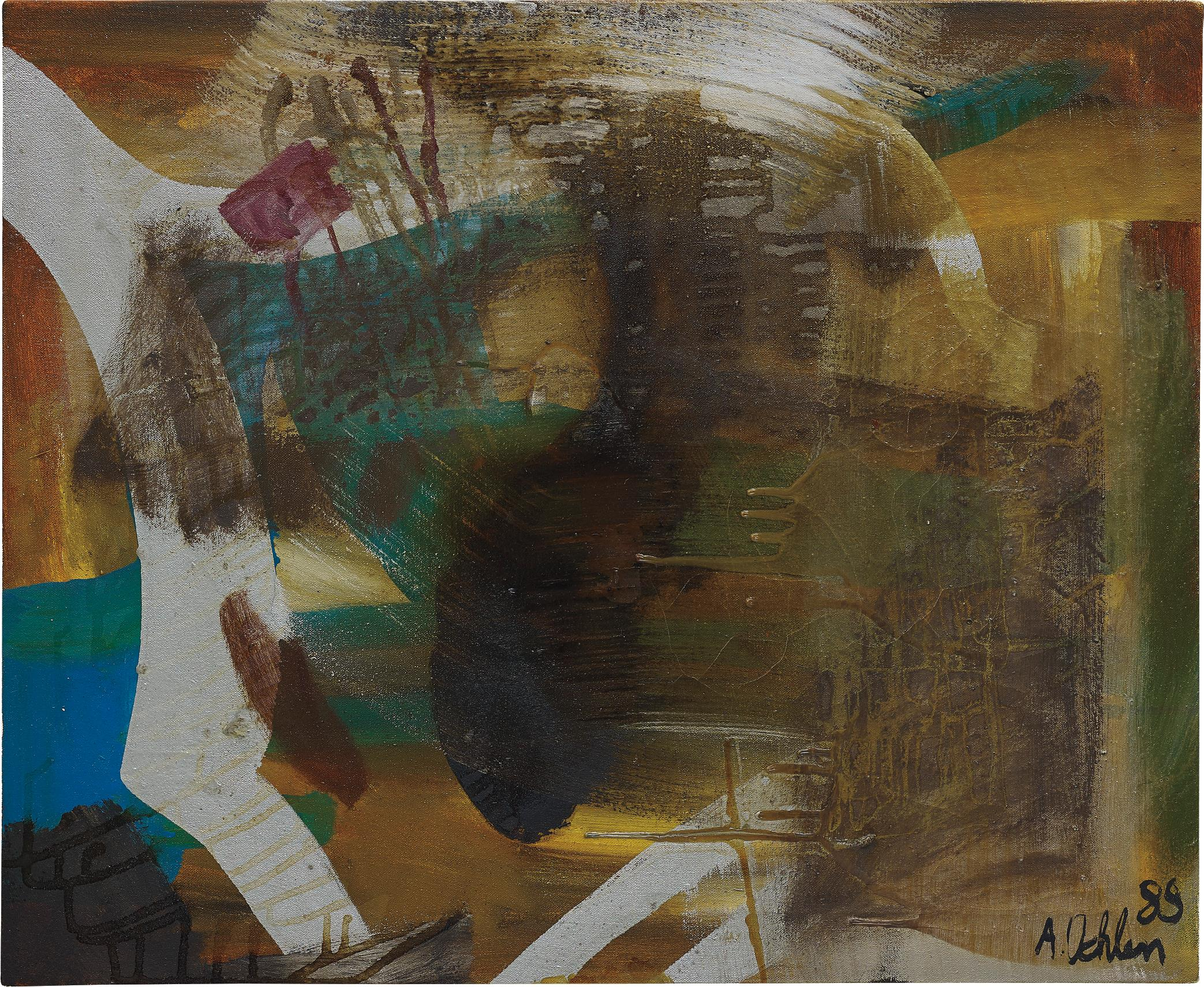 Albert Oehlen-Untitled-1989