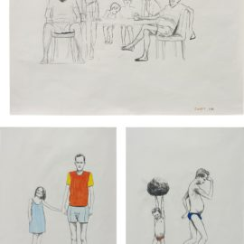 Charles Avery-Three Works: Untitled-1998