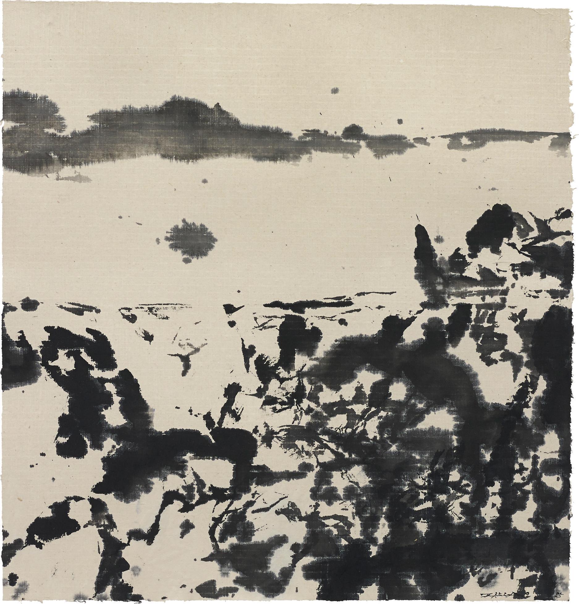 Zao Wou-Ki-Untitled-1985