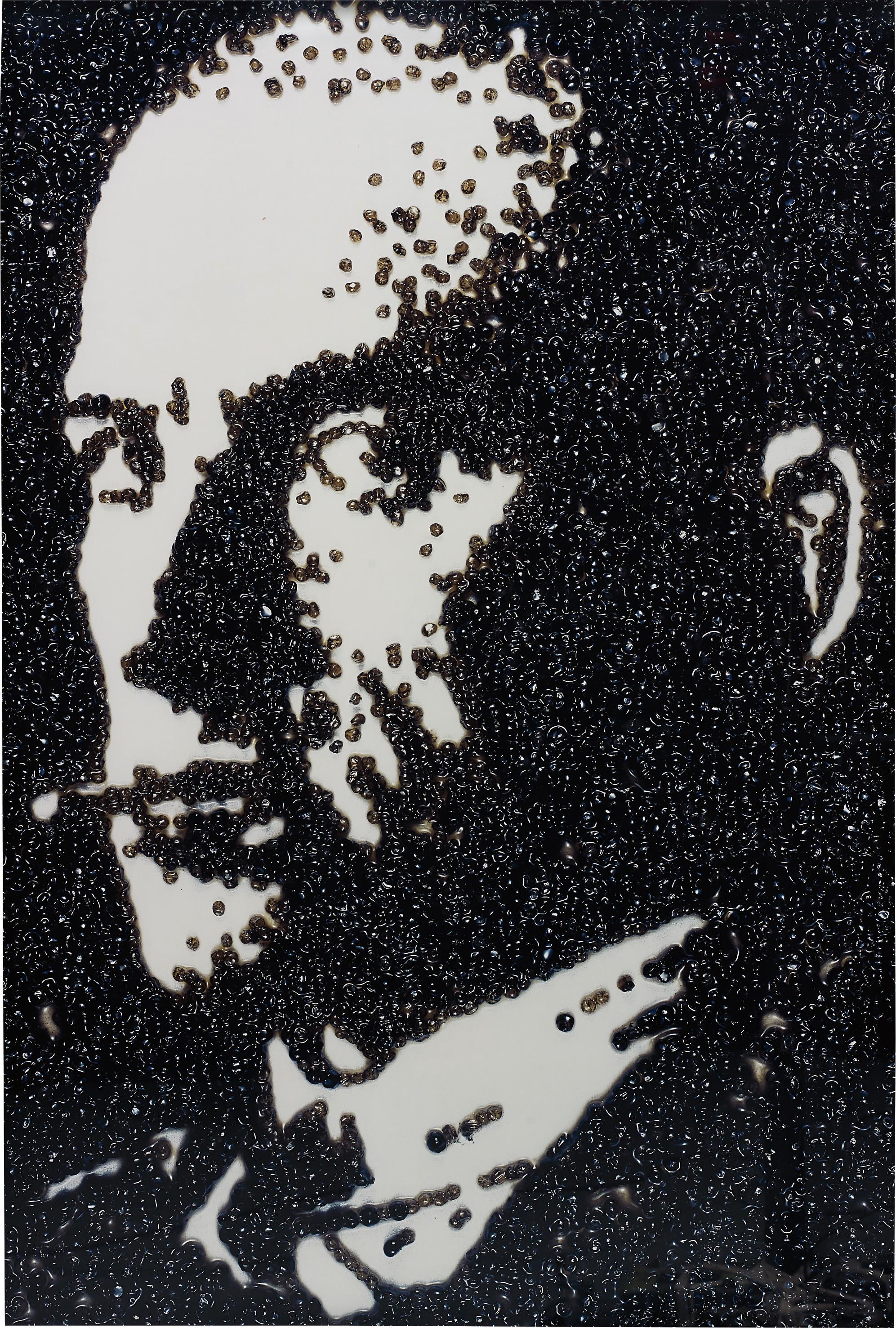 Vik Muniz-Maiakowskij, After Rodchenko (Pictures Of Caviar)-2004