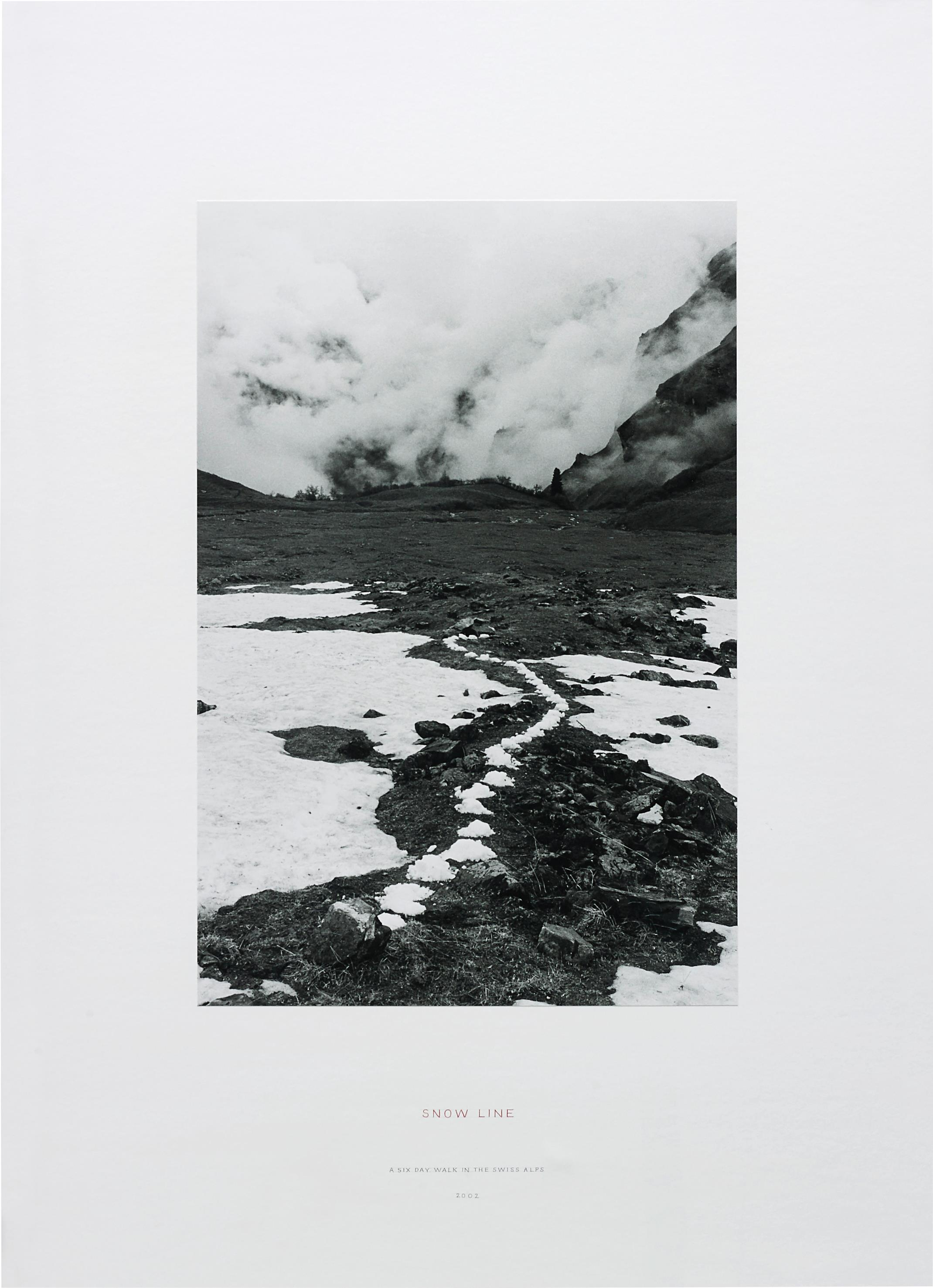 Richard Long-Snow Line (A Six Day Walk In The Swiss Alps)-2002