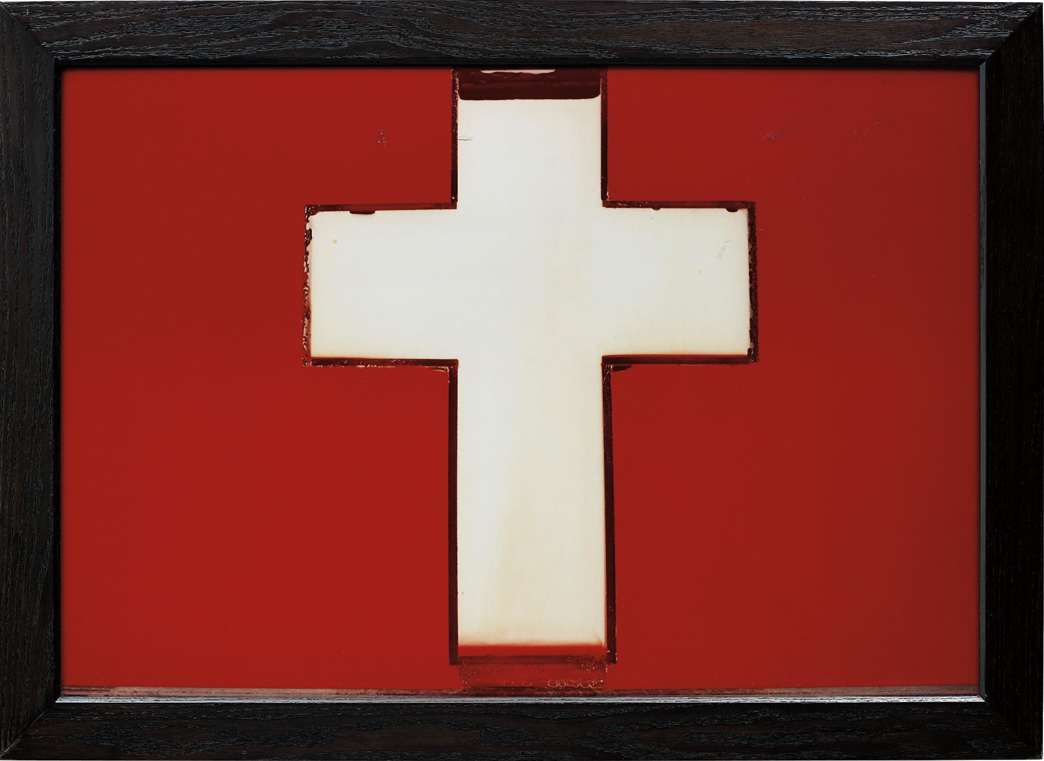 Andres Serrano-Milk Cross-1987