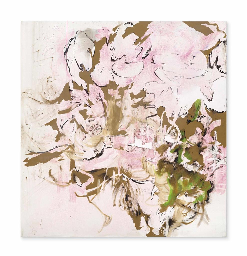 Charline von Heyl-Untitled (Pink)-2003