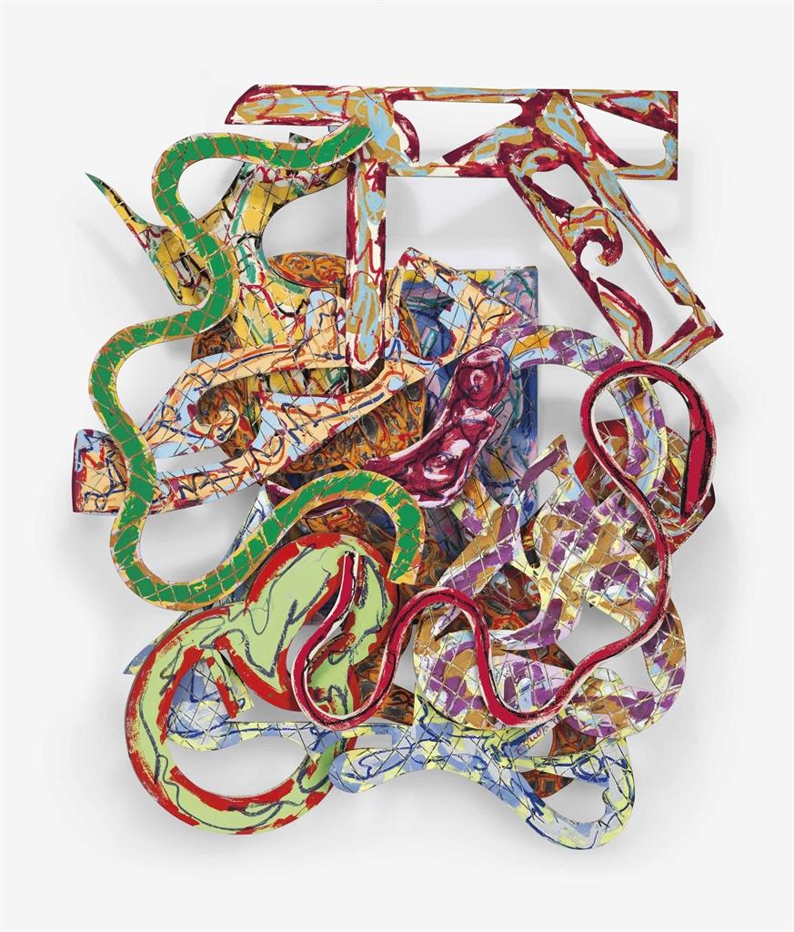 Frank Stella-Norisring (XVI-3x)-1983