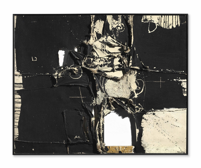 Manolo Millares-Cuadro 64 (3)-1959
