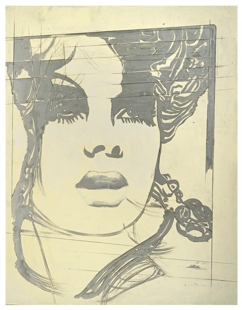 Giosetta Fioroni-La modella inglese (The English Model)-1969