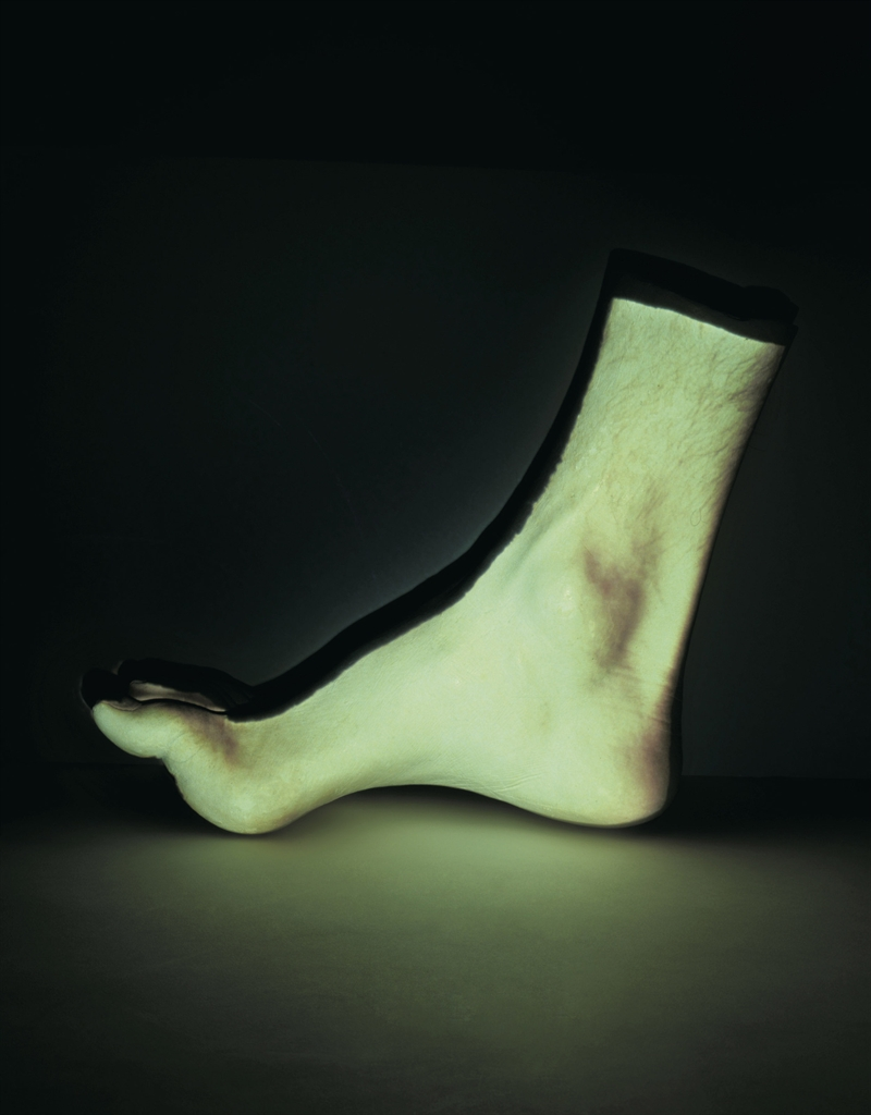 Giuseppe Penone-Piede (Foot)-1973