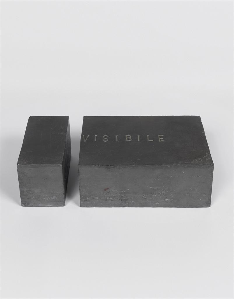 Giovanni Anselmo-Invisibile (Invisible)-1973