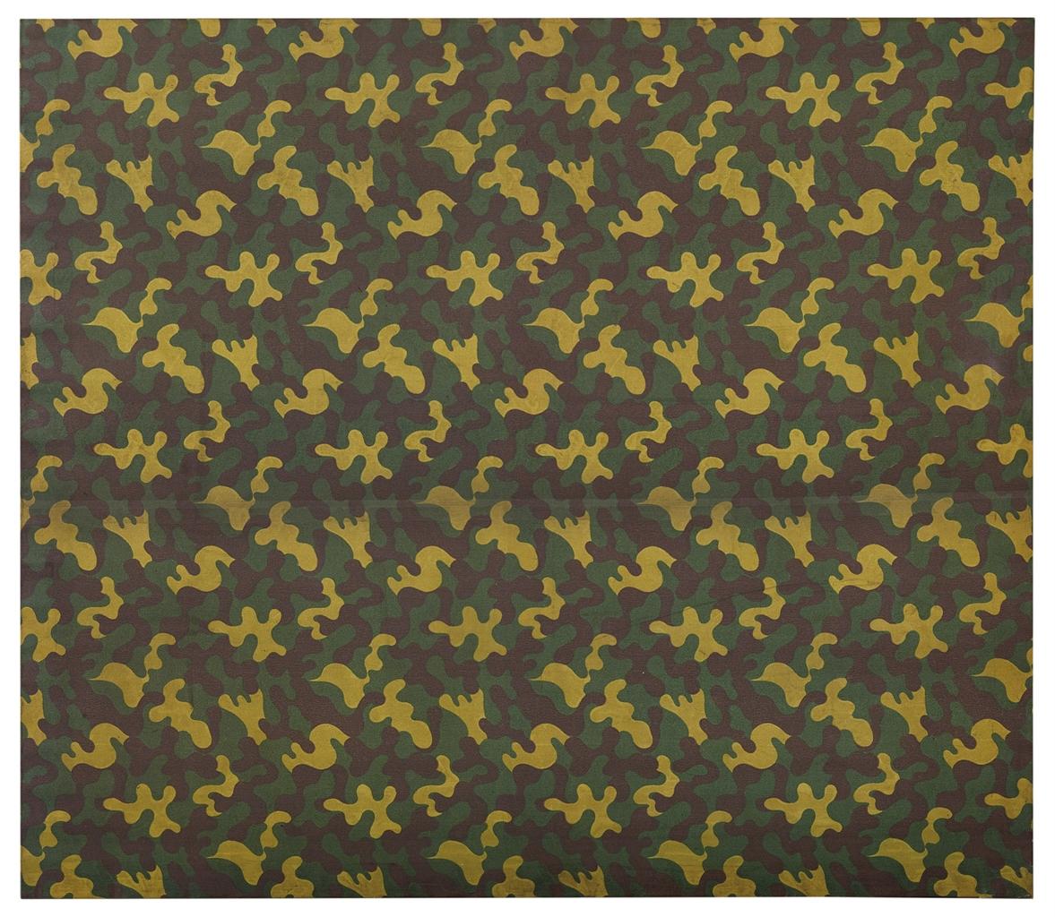 Alighiero Boetti-Mimetico (Camouflage)-1981