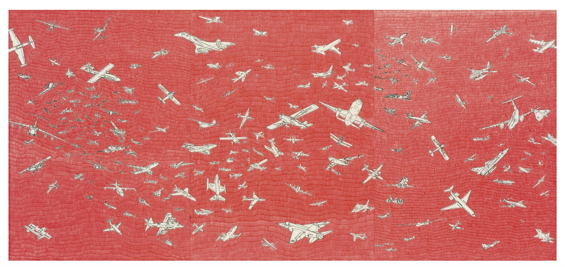 Alighiero Boetti-Aerei (Planes)-1983