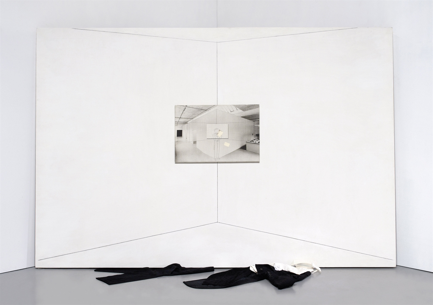 Giulio Paolini-Incognita (Unknowable)-1980