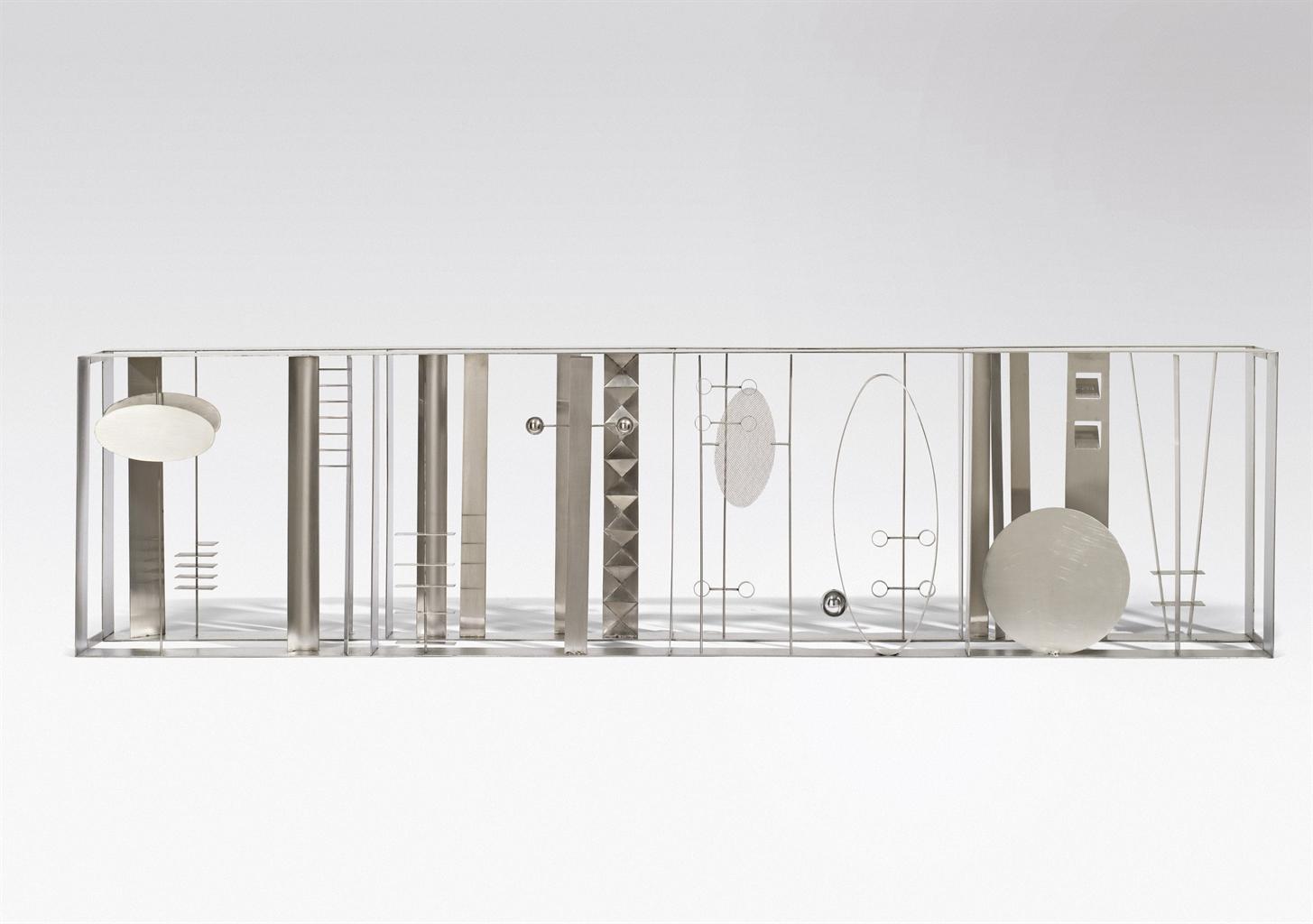 Fausto Melotti-Arte del contrappunto plastico n. 1-1969