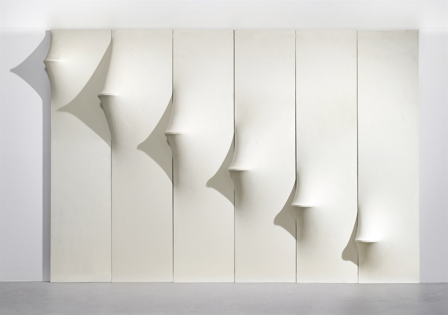 Agostino Bonalumi-Ambiente bianco (White Environment)-1967