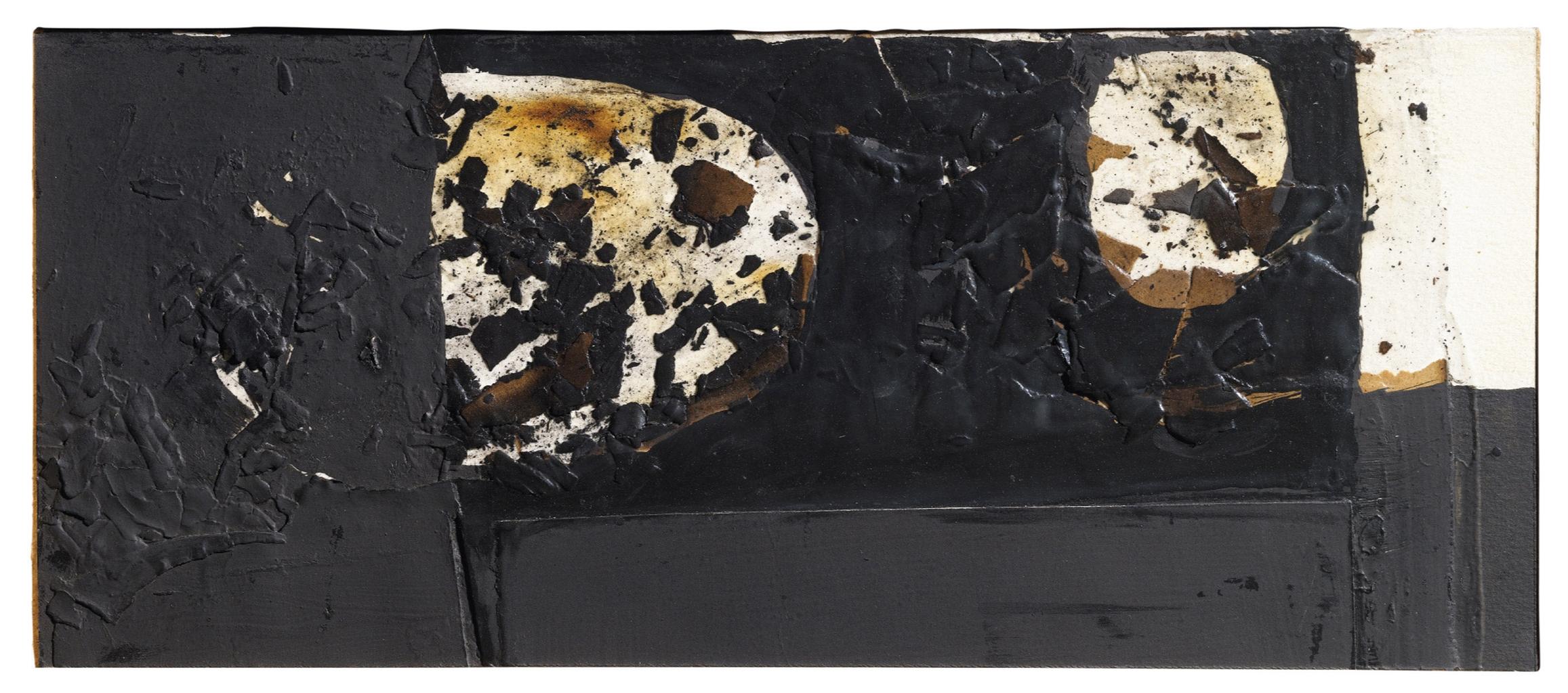 Alberto Burri-Combustione-1957