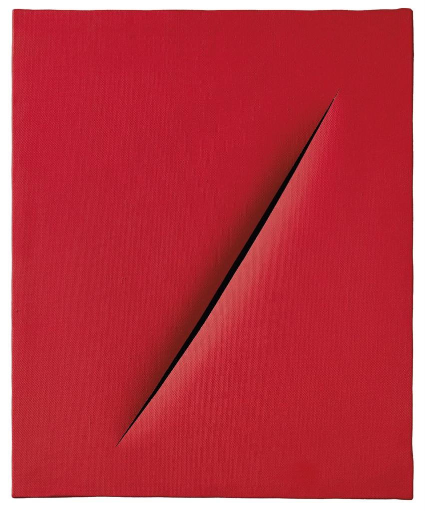 Lucio Fontana-Concetto spaziale, Attesa-1967