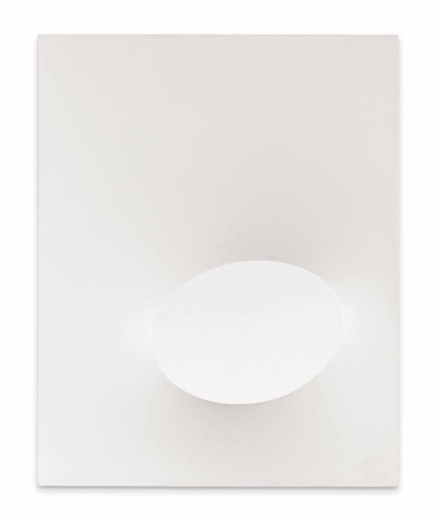 Turi Simeti-Ovale Bianco (White Oval)-1970