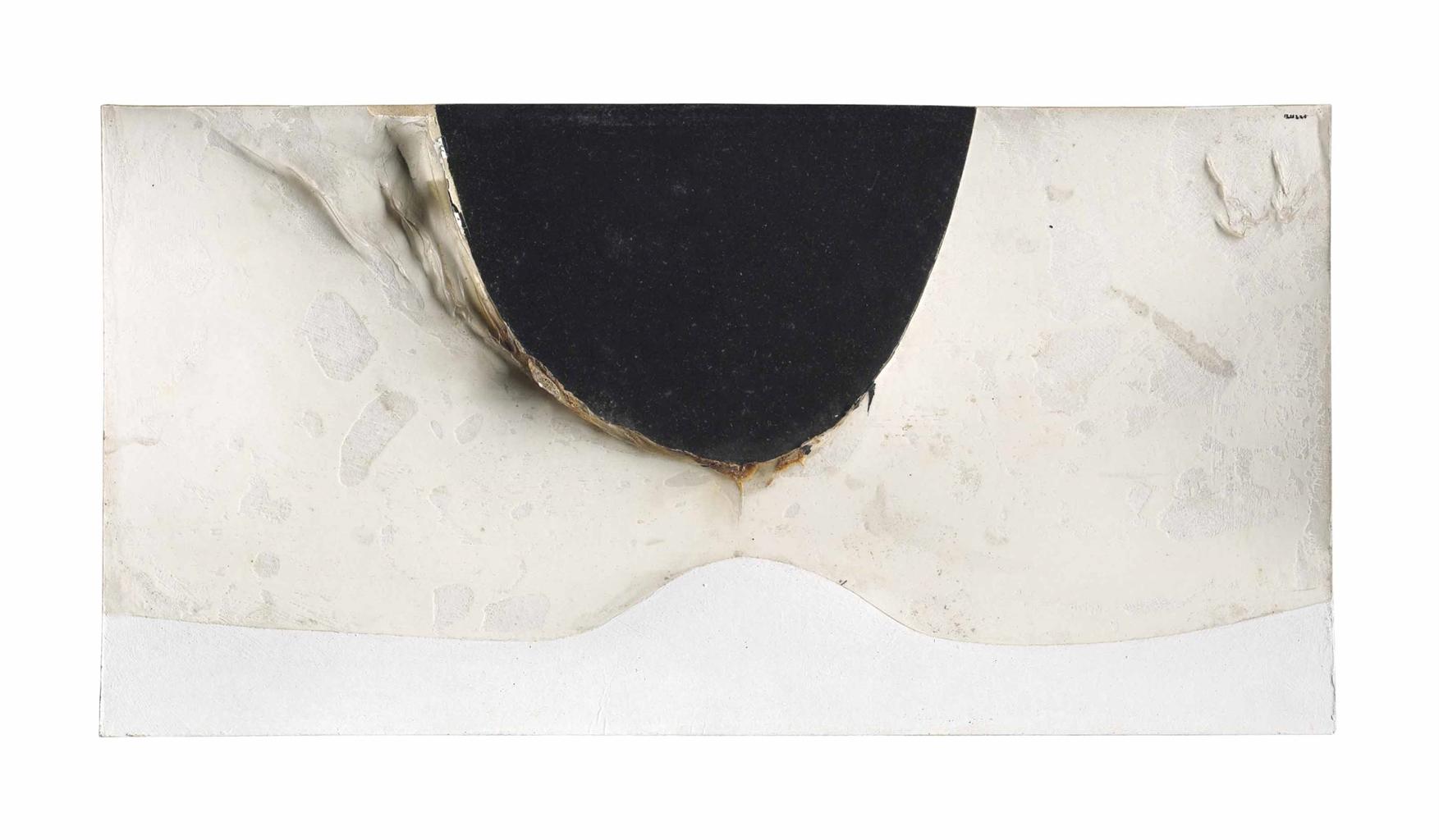 Alberto Burri-Combustione (Combustion)-1966