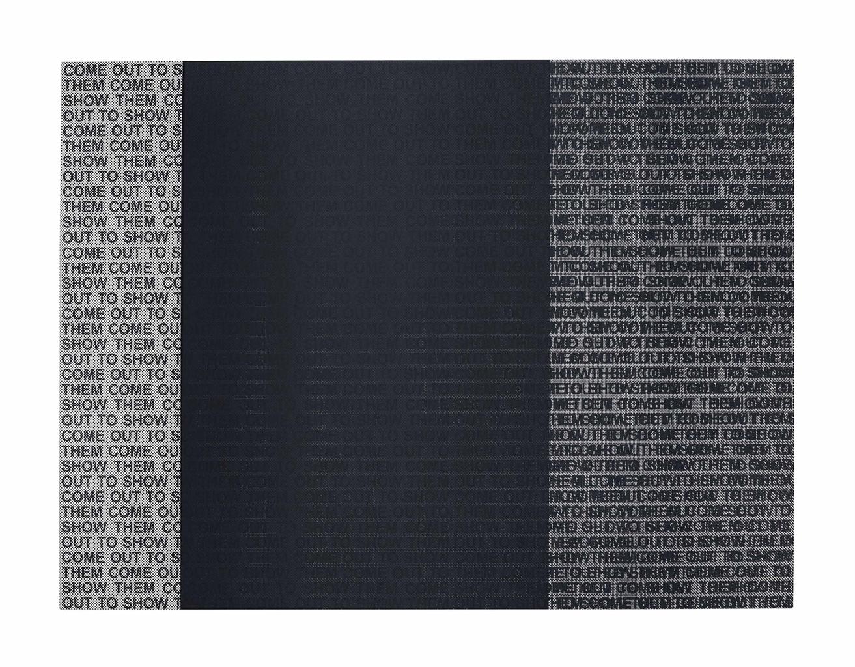 Glenn Ligon-Come Out Study #19-2015