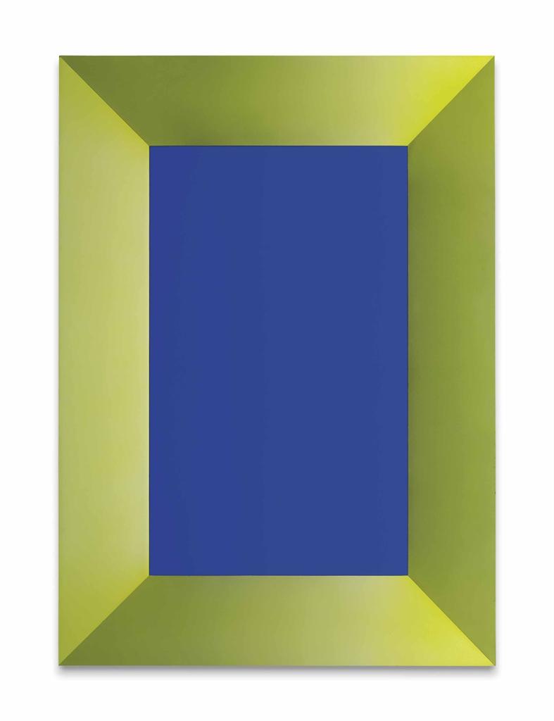 Katharina Fritsch-Blaues Bild (Blue Painting)-1991