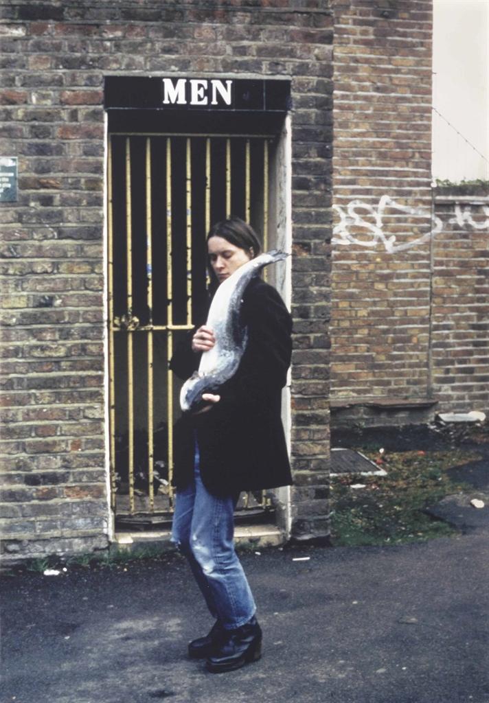 Sarah Lucas-Got a Salmon on #1-1997