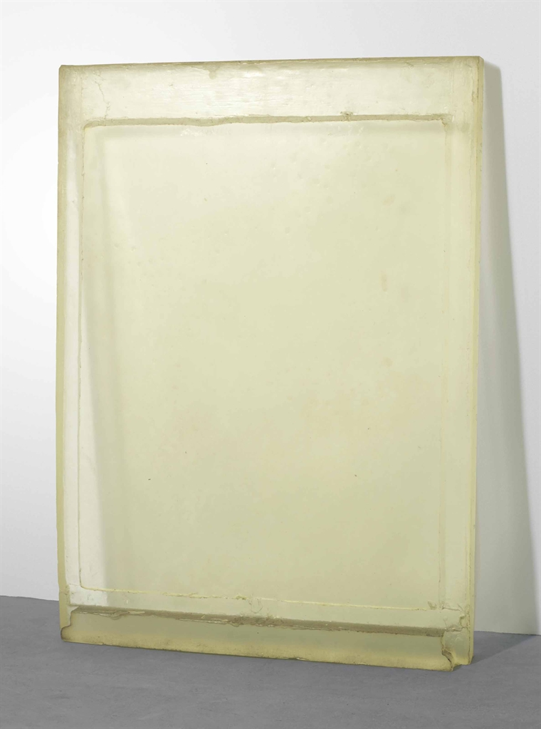 Rachel Whiteread-Untitled (Clear)-1991
