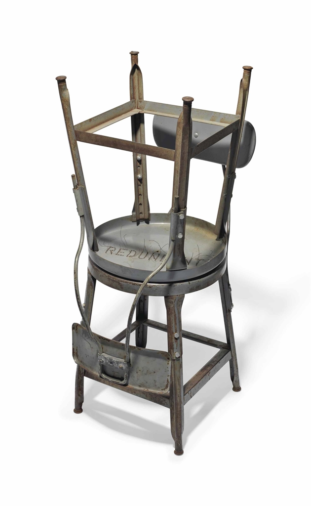 Mona Hatoum-Sprague Chairs (Redundant)-2001