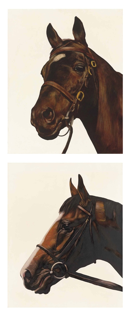 Mark Wallinger-Fathers & Sons: Great Nephew & Shergar-1993