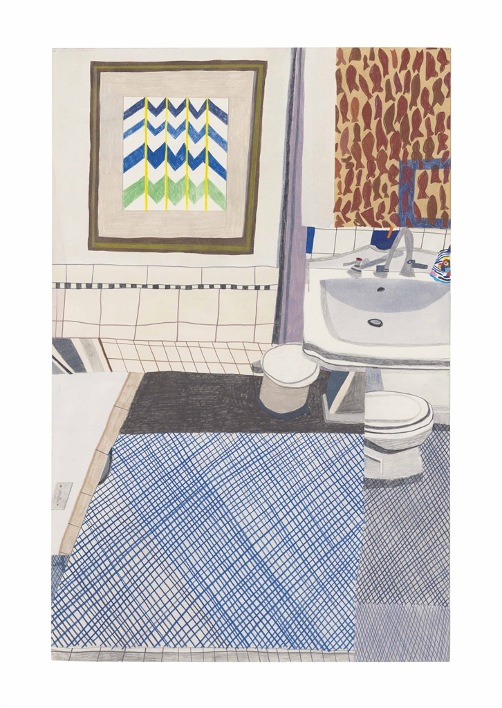 Jonas Wood-Downstairs Bathroom 2-2009