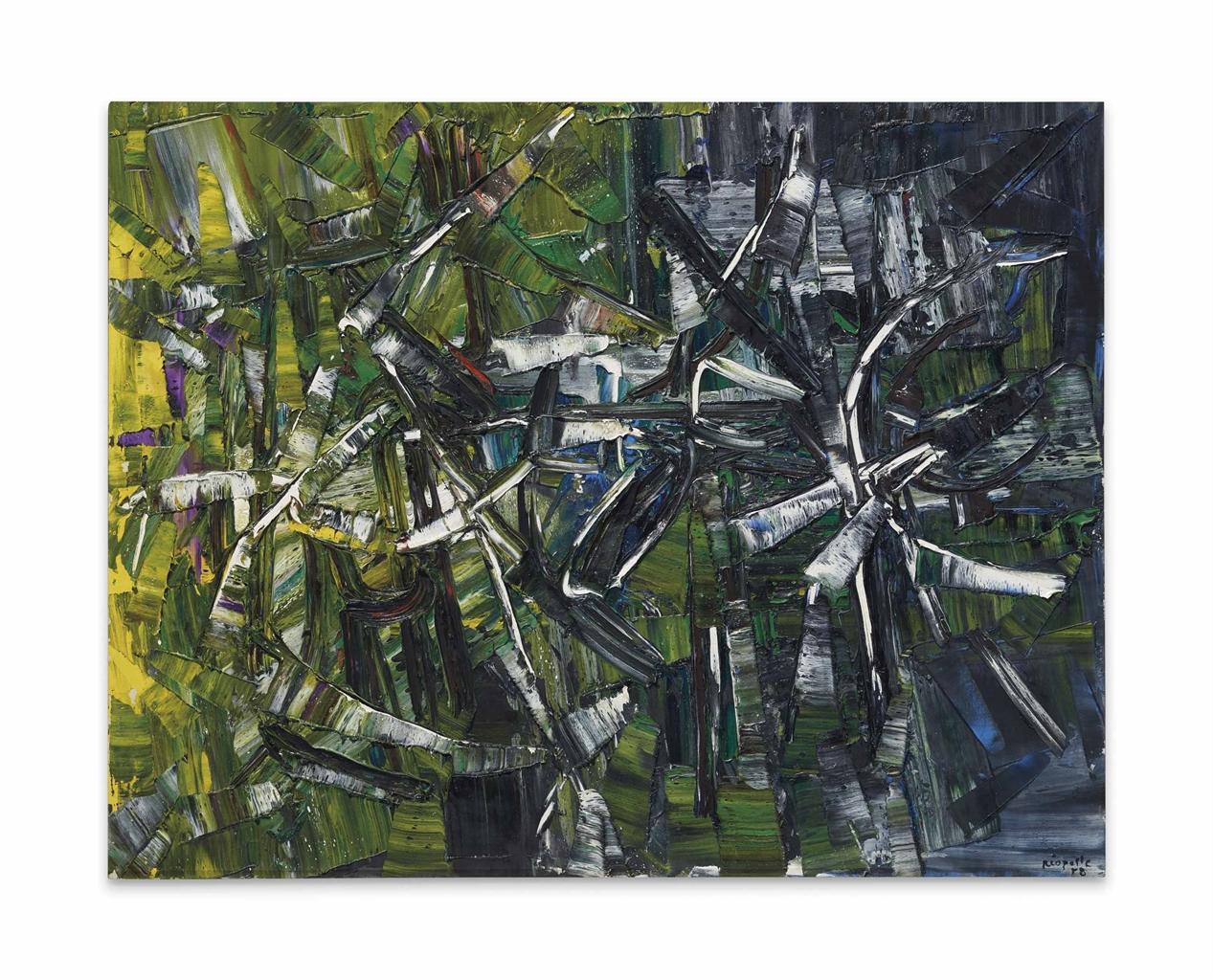 Jean-Paul Riopelle-Untitled-1958