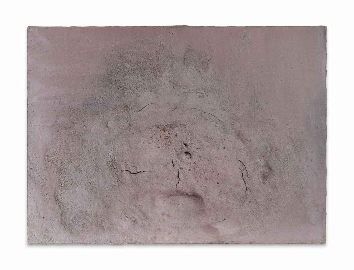 Antoni Tapies-Pink Painting. No. XLIX-1957