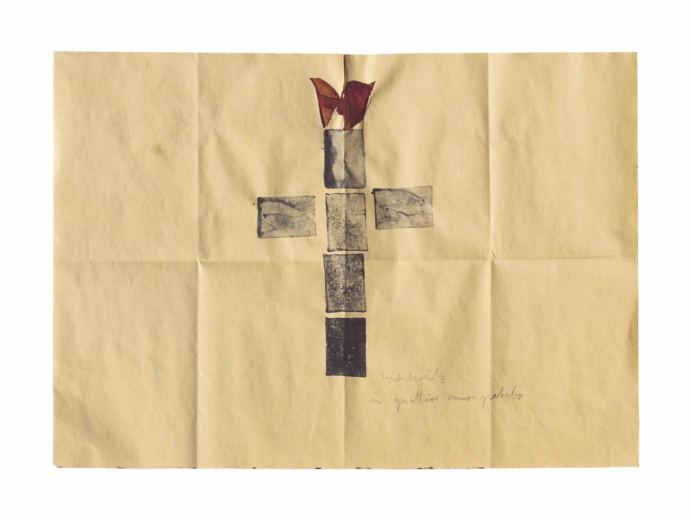 Anselm Kiefer-Untitled (Rosenkranz) (Untitled (Rosary))-1970