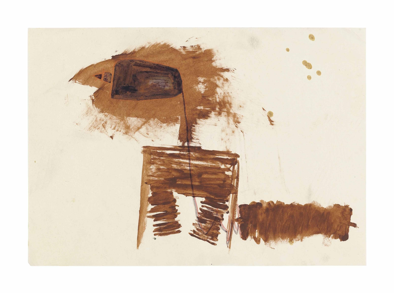 Joseph Beuys-Pol (Pole)-1962