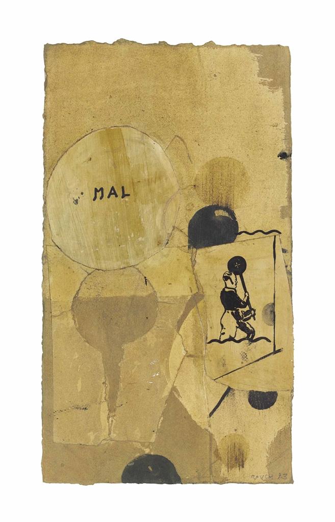 Neo Rauch-Ohne Titel (Untitled)-1993
