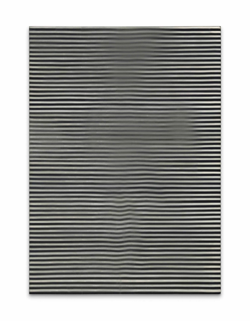 Ross Bleckner-From the Three, Beating as One (#3)-1988