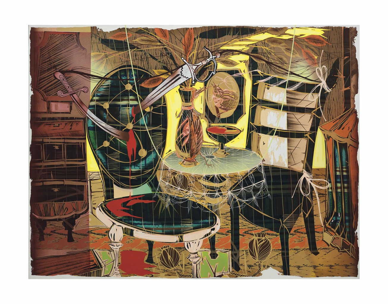 Lari Pittman-Untitled #1-2004