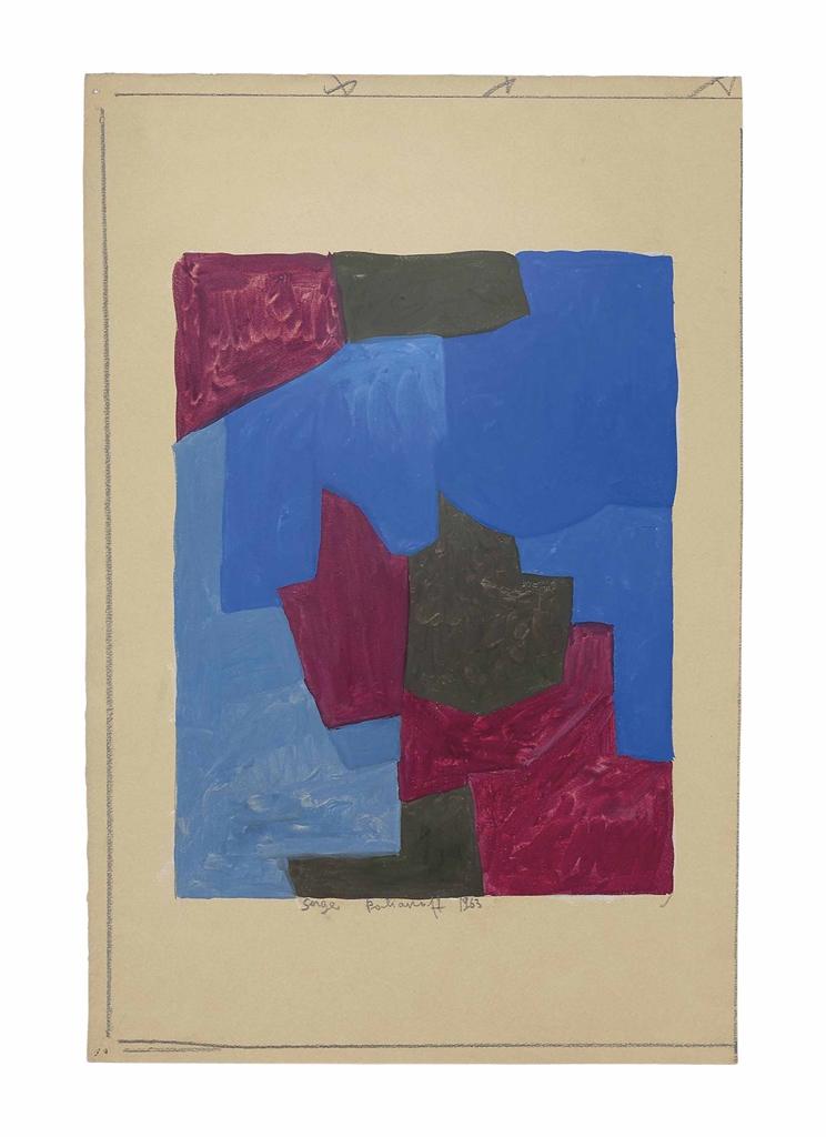 Serge Poliakoff-Untitled-1963
