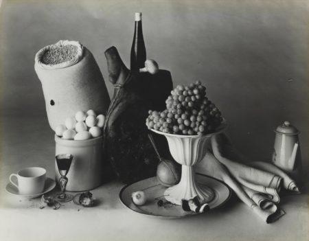 Irving Penn-New York Still Life With Food-1947