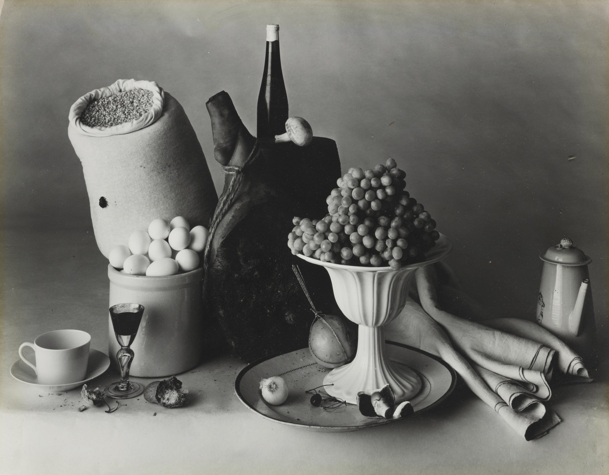 Irving Penn-New York Still Life With Food-1947