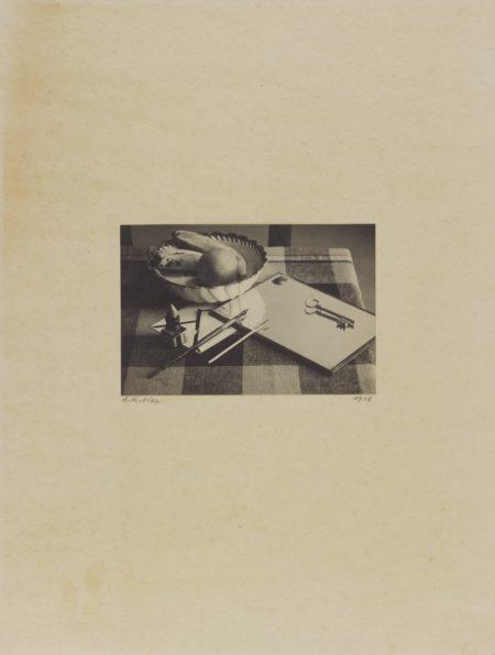 Andre Kertesz-Nature Morte (II)-1927