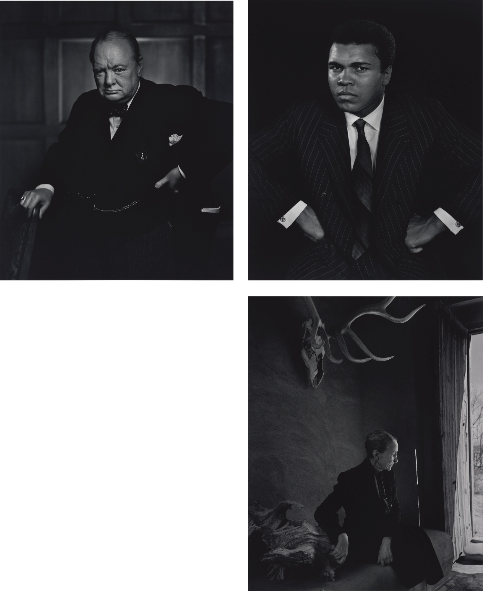 Yousuf Karsh-Fifteen Portraits (Carmel: Weston Gallery, 1983)-1972