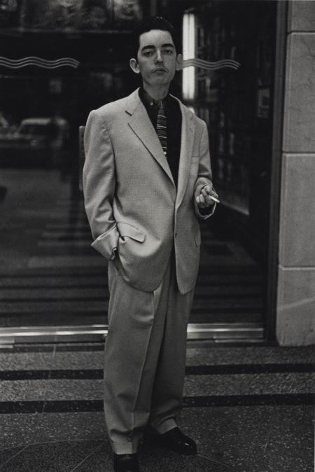 Diane Arbus-Young Man In A Baggy Suit N. Y. C.-1961