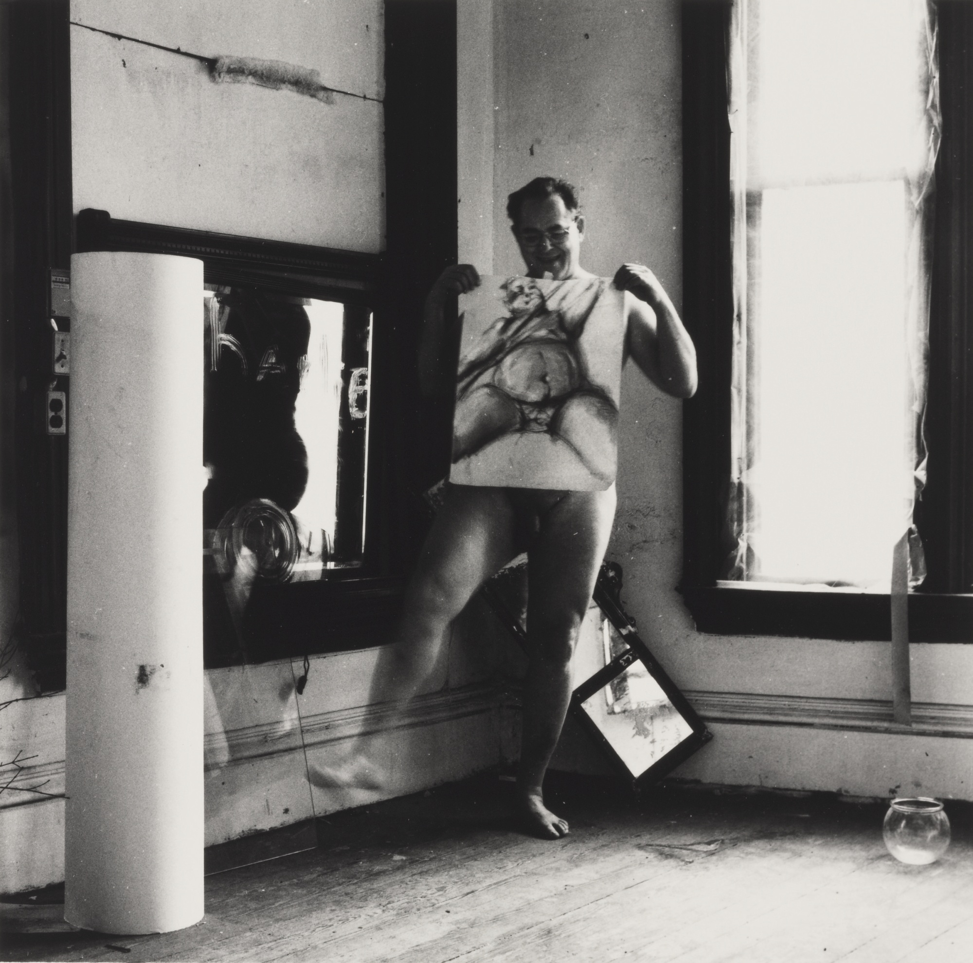 Francesca Woodman-Charlie The Model #2 Providence Rhode Island-1977