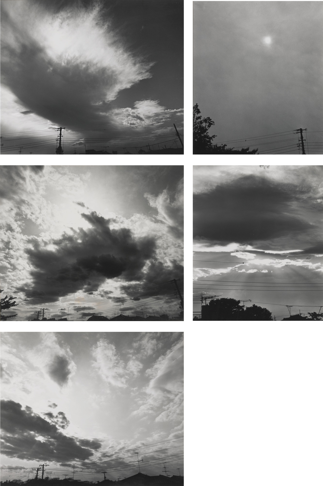 Nobuyoshi Araki-Selected Images From Skyscapes-1980